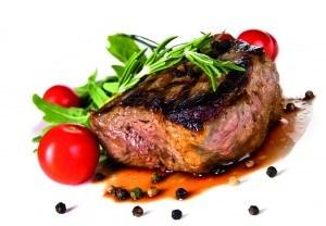 Eisenhaltiges Lebensmittel Beispiel rotes Fleisch