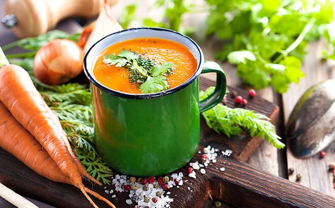 Rezept, Karotten-Orangen-Suppe