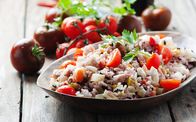 Rezept, Thunfisch-Reis-Salat